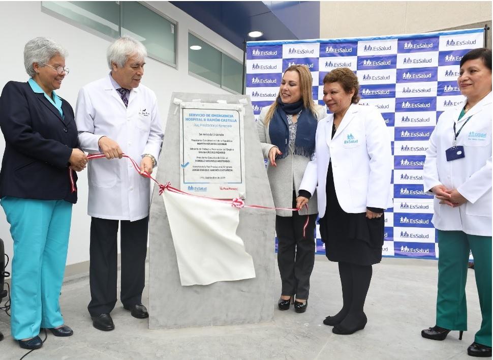 Essalud - Renueva infraestructura de Servicio de Emergencia del Hospital Castilla.