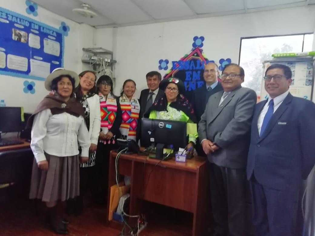 Huancavelica inaugura servicio de atención telefónica en quechua