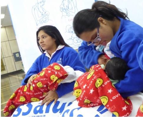 Essalud - Brinda recomendaciones para una correcta lactancia materna.