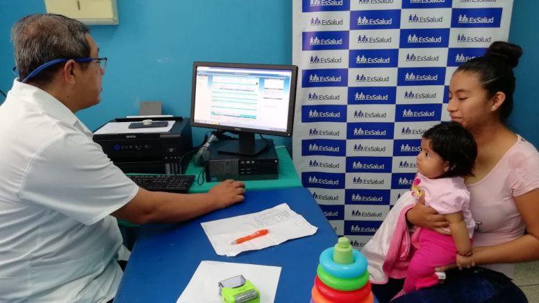 Centros de EsSalud en Piura ya cuenta con historias clínicas digitales