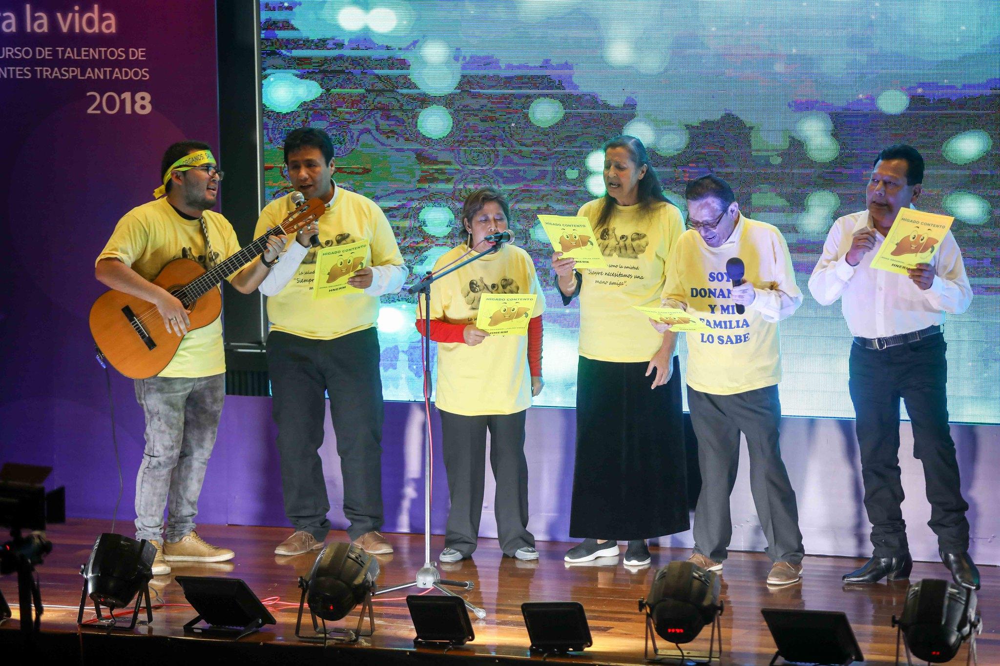 Essalud - Pacientes trasplantados participarán en concurso de canto y baile organizado por EsSalud