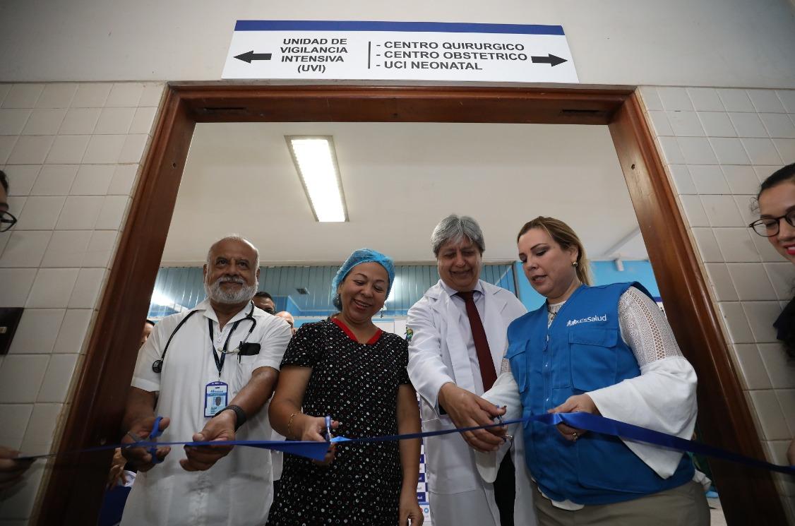Essalud - Presenta renovadas áreas para atención de gestantes y recién nacidos en Ucayali