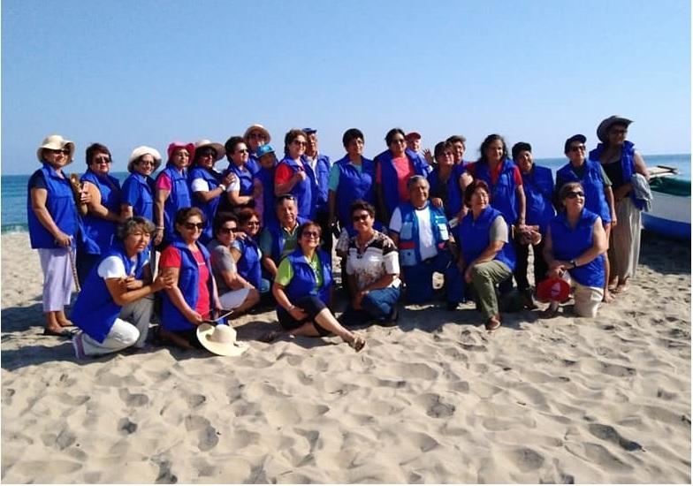 Adultos mayores de CAM de EsSalud Madre de Dios practican turismo social