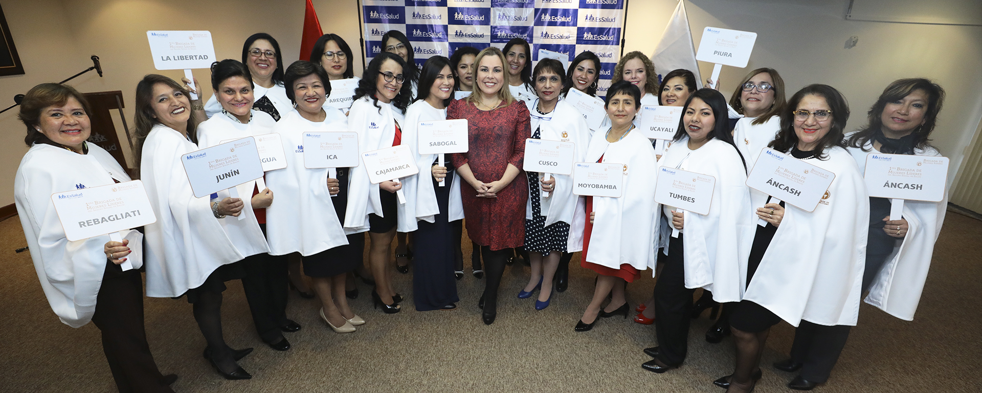 Essalud - EsSalud conforma brigada de mujeres líderes que velará por mejoras en la atención de asegurados