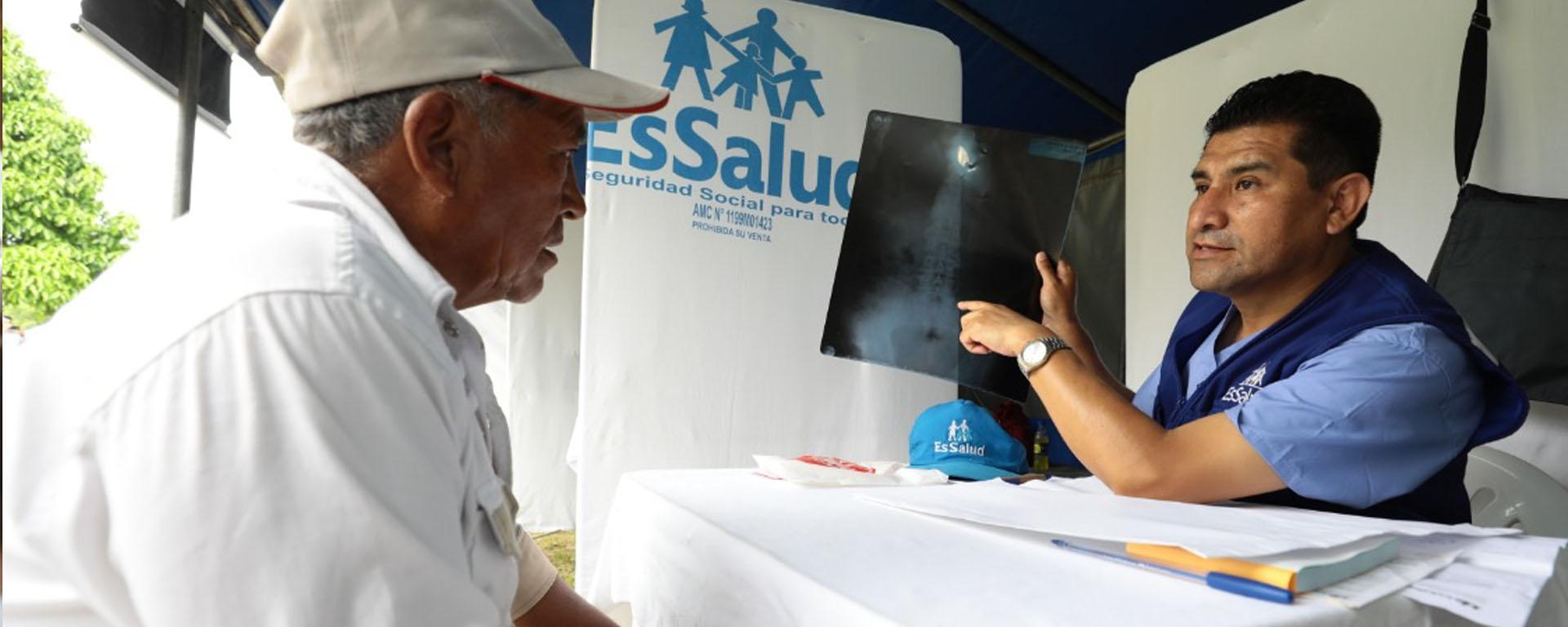 Essalud - Hospital Perú de EsSalud brindó más de 116 mil atenciones a nivel nacional