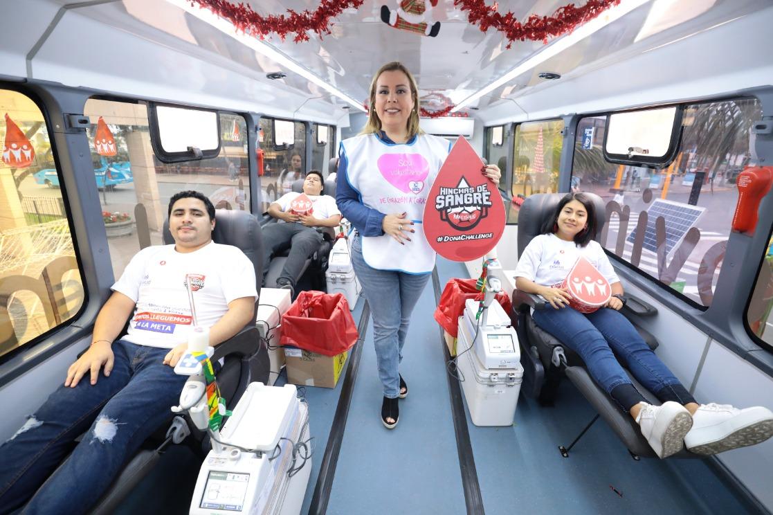 Essalud - EsSalud recolecta sangre para abastecer hospitales ante posibles emergencias por fiestas de fin de año