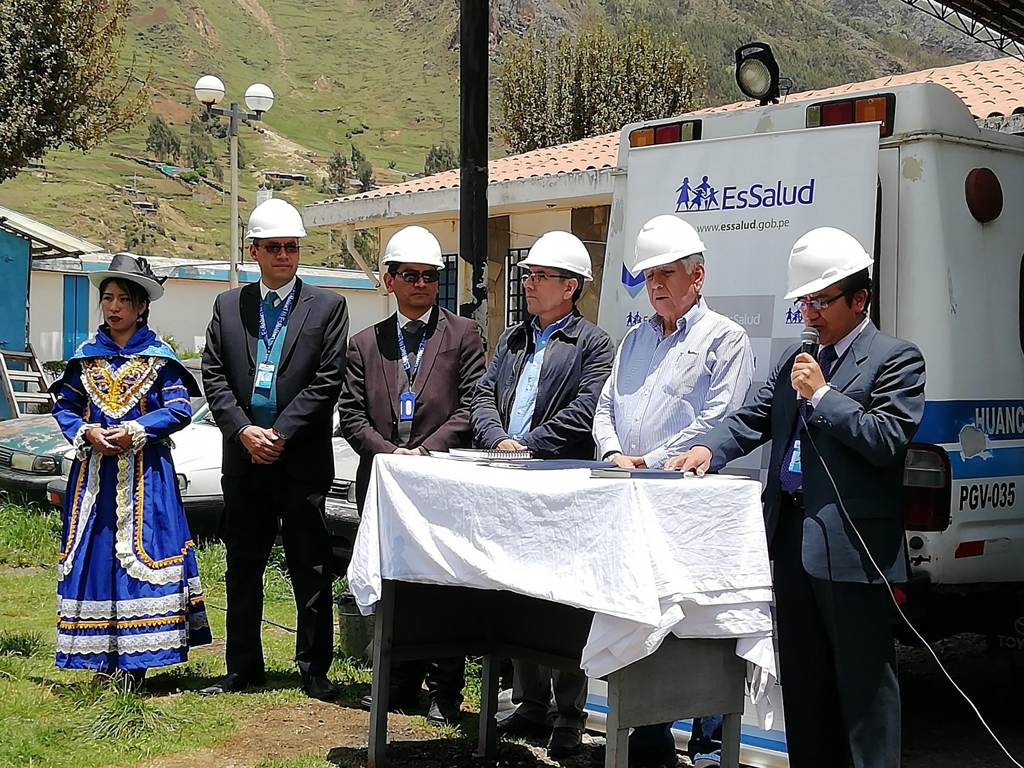 Essalud - Hospital II de EsSalud Huancavelica amplia Servicio de Hospitalización