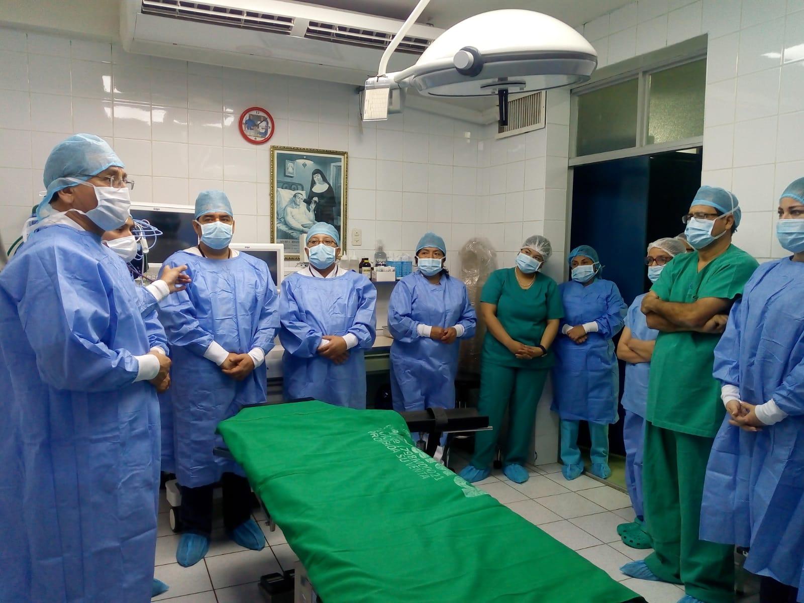 EsSalud Lambayeque presenta modernos equipos para Sala de Operaciones del hospital de Ferreñafe