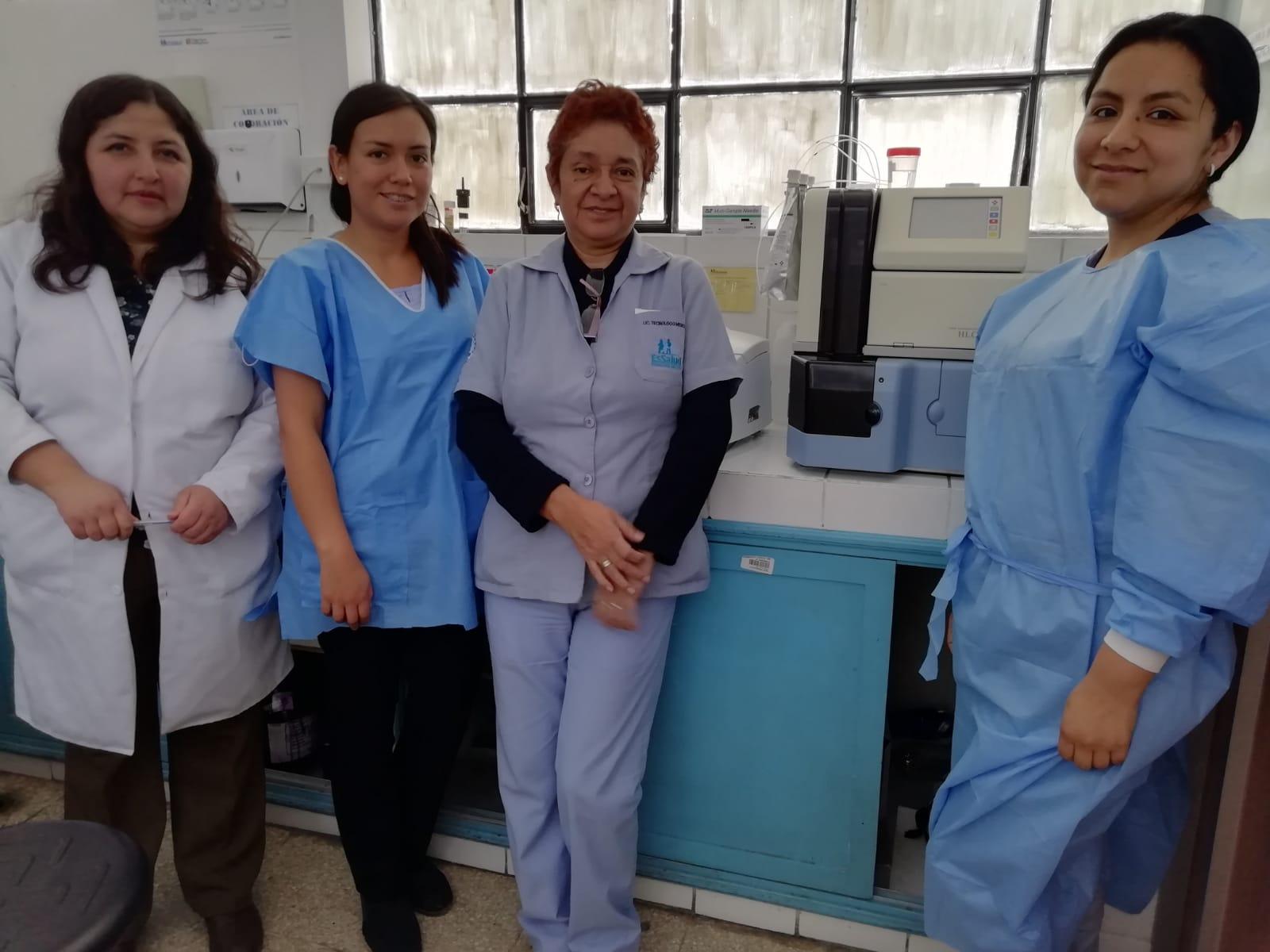 Essalud - EsSalud Cajamarca implementa mejoras en su laboratorio
