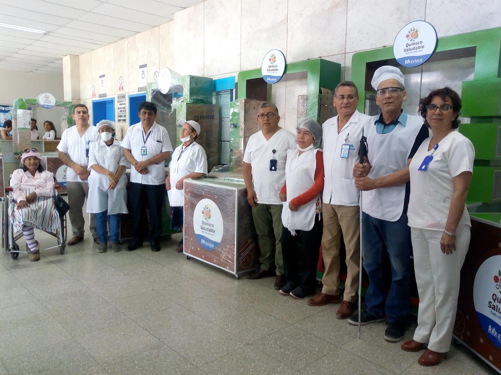 Essalud - EsSalud Lambayeque incentiva buena alimentación en quioscos saludables