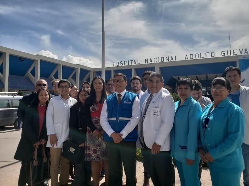 EsSalud Cusco: Se incorporan 18 nuevos médicos de diversas especialidades