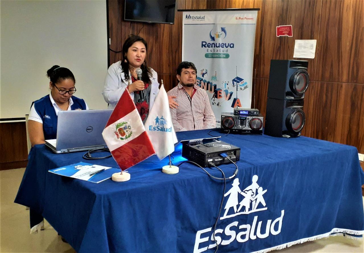 EsSalud Tarapoto revisa proyecciones de 2020