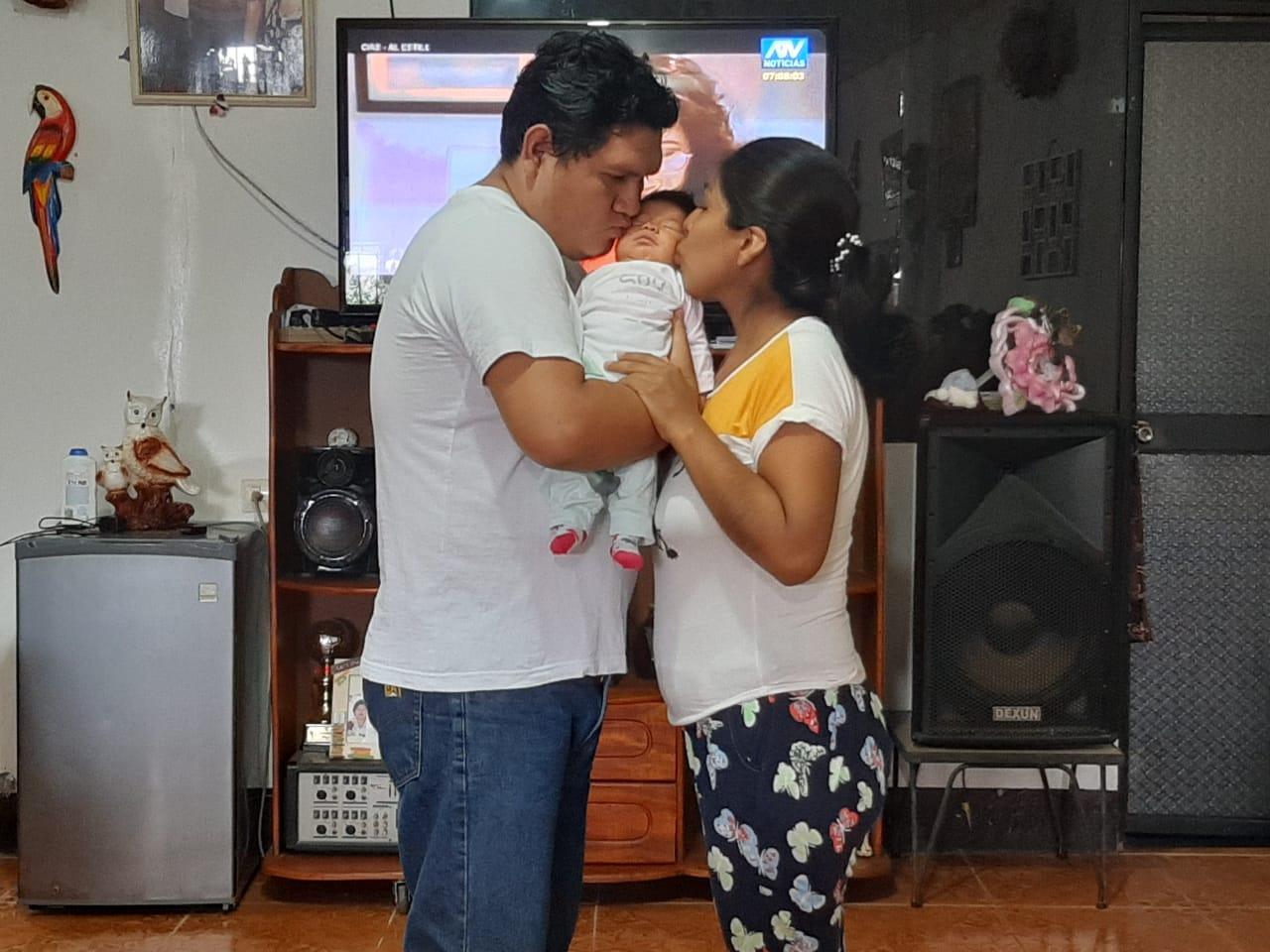 Essalud - Madre de Dios: médicos salvan útero y joven mujer se convierte en mamá por primera vez