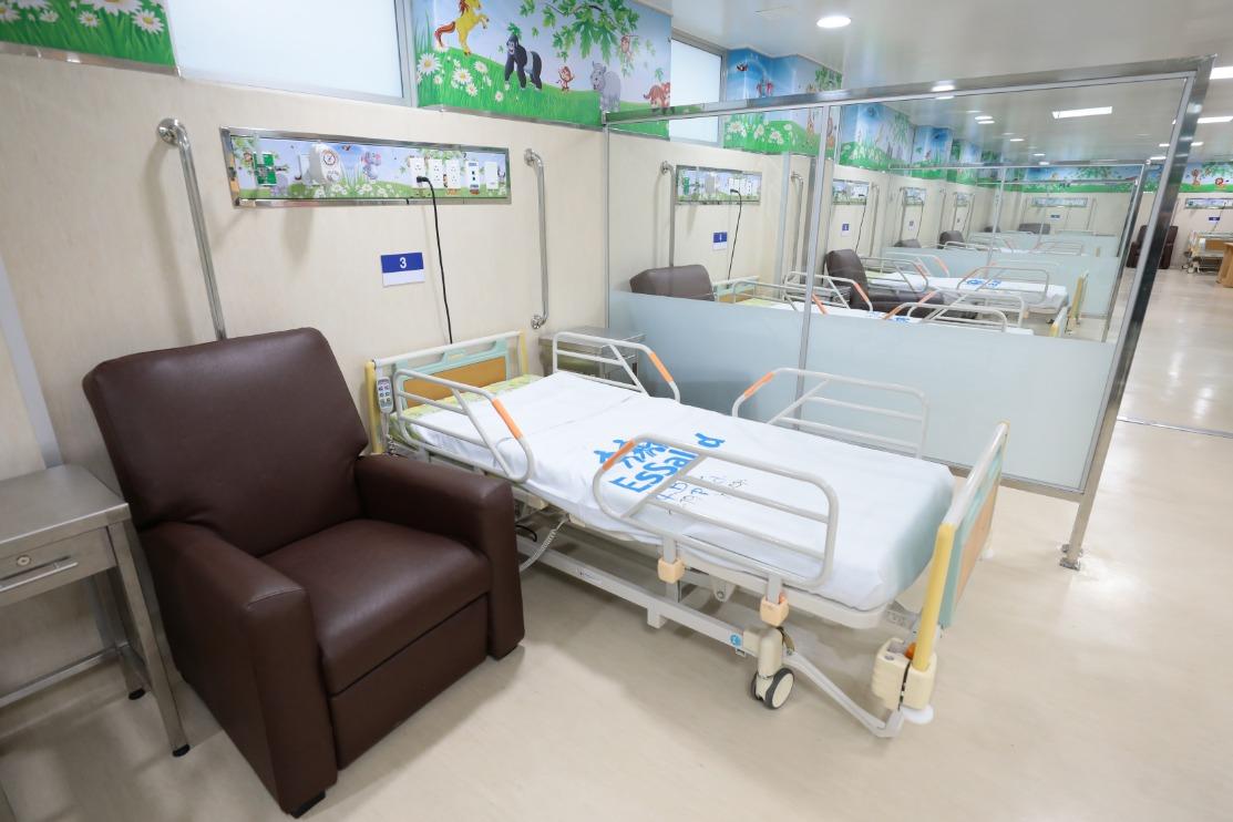 Essalud - EsSalud inaugura moderna área en hospital Almenara para tratamiento de cáncer infantil
