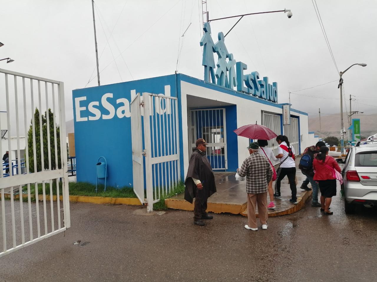 Essalud - EsSalud activa plan de contingencia ante registro de lluvias en Moquegua