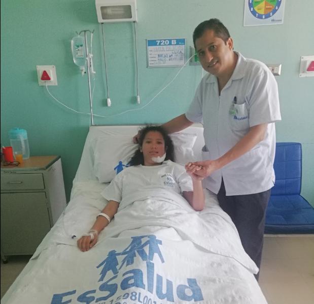EsSalud La Libertad realizó primera operación de cementoblastoma en mandibula izquierda