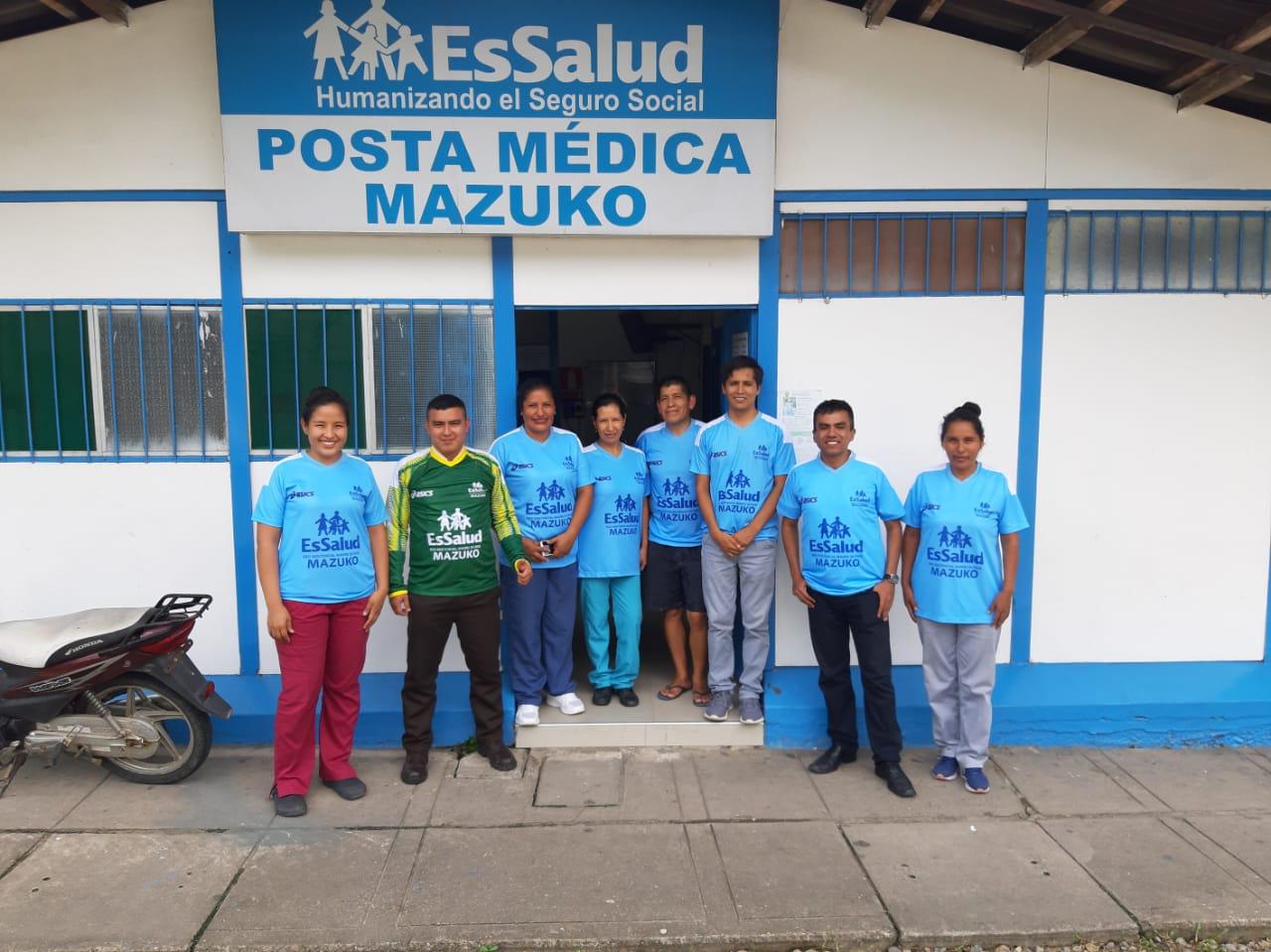 Essalud - EsSalud Madre de Dios: en Mazuko se realiza campaña contra el dengue
