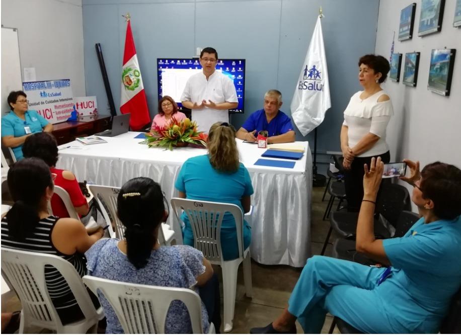 Essalud - EsSalud Loreto capacita a profesionales de Hospital III Iquitos