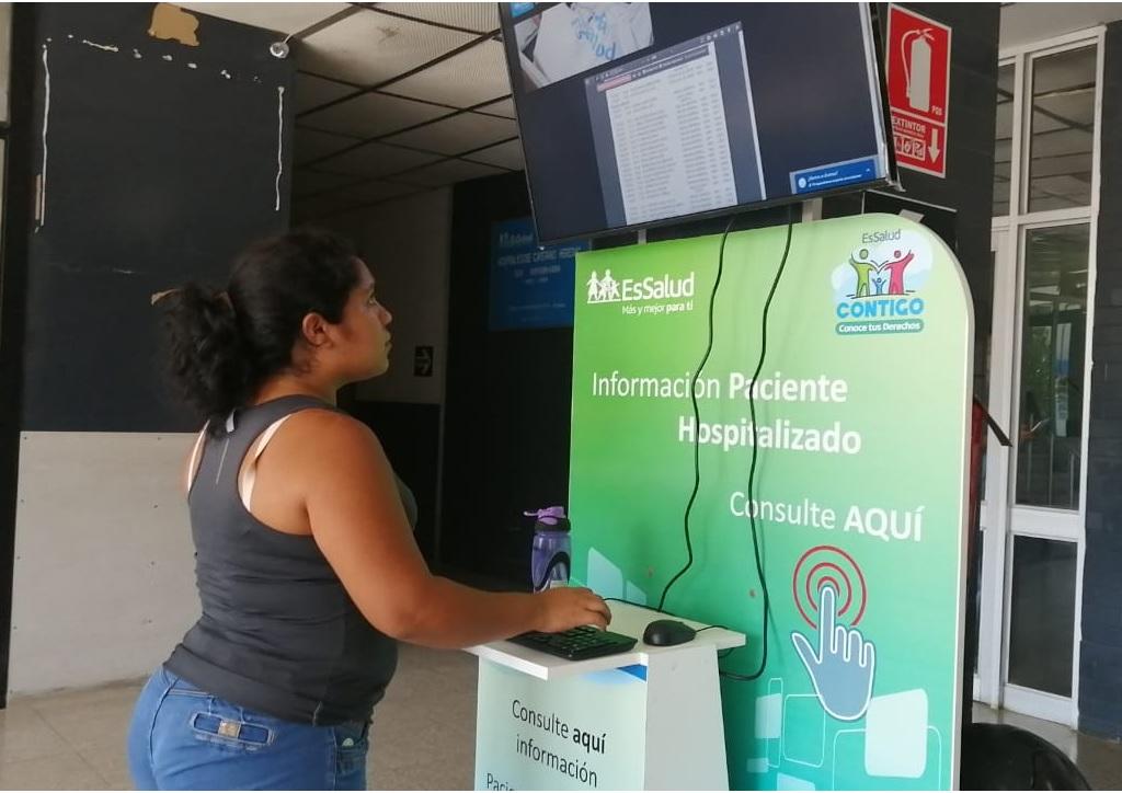 EsSalud Piura mejora sistema de información a familiares de hospitalizados