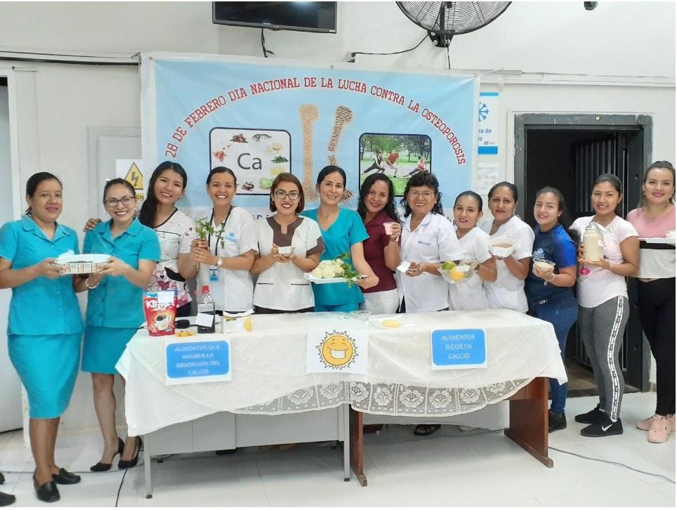 Essalud - EsSalud Tarapoto realizó actividades por Día Nacional de Lucha contra la Osteoporosis
