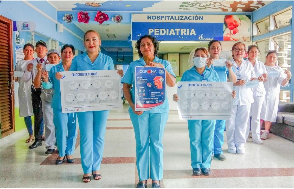 Essalud - Enfermeras de EsSalud Ucayali lideran capacitación preventiva para afrontar el coronavirus