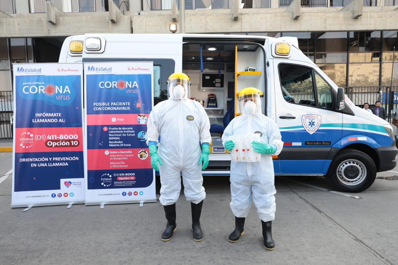 EsSalud refuerza medidas para prevención y atención de casos de coronavirus en todo el país