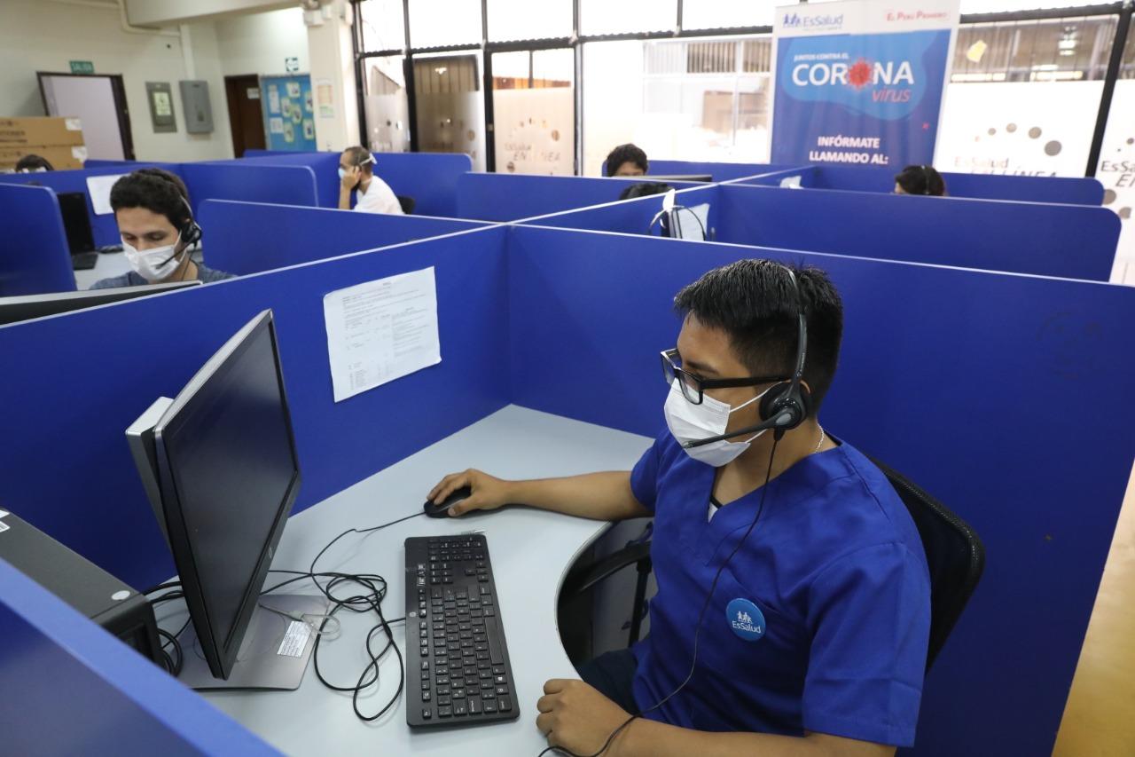 EsSalud habilita nueva línea gratuita exclusiva 107 para información y prevención del coronavirus