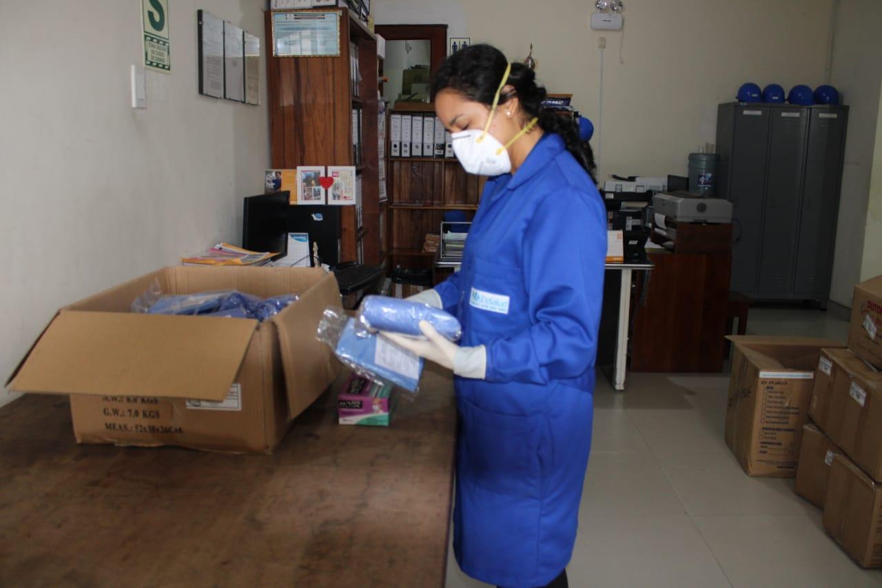 EsSalud Moyobamba refuerza equipos de protección para su personal de salud