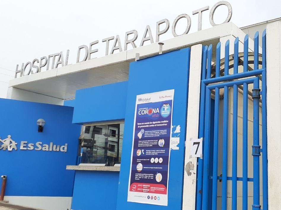 EsSalud Tarapoto prioriza atención a pacientes con dificultades respiratorias