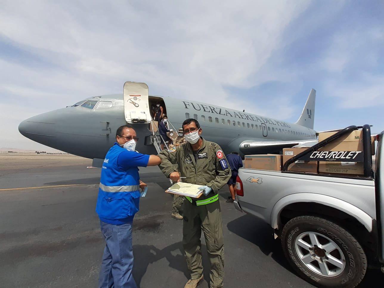 Essalud - EsSalud Tacna recibe insumos médicos y equipos de protección personal para trabajadores