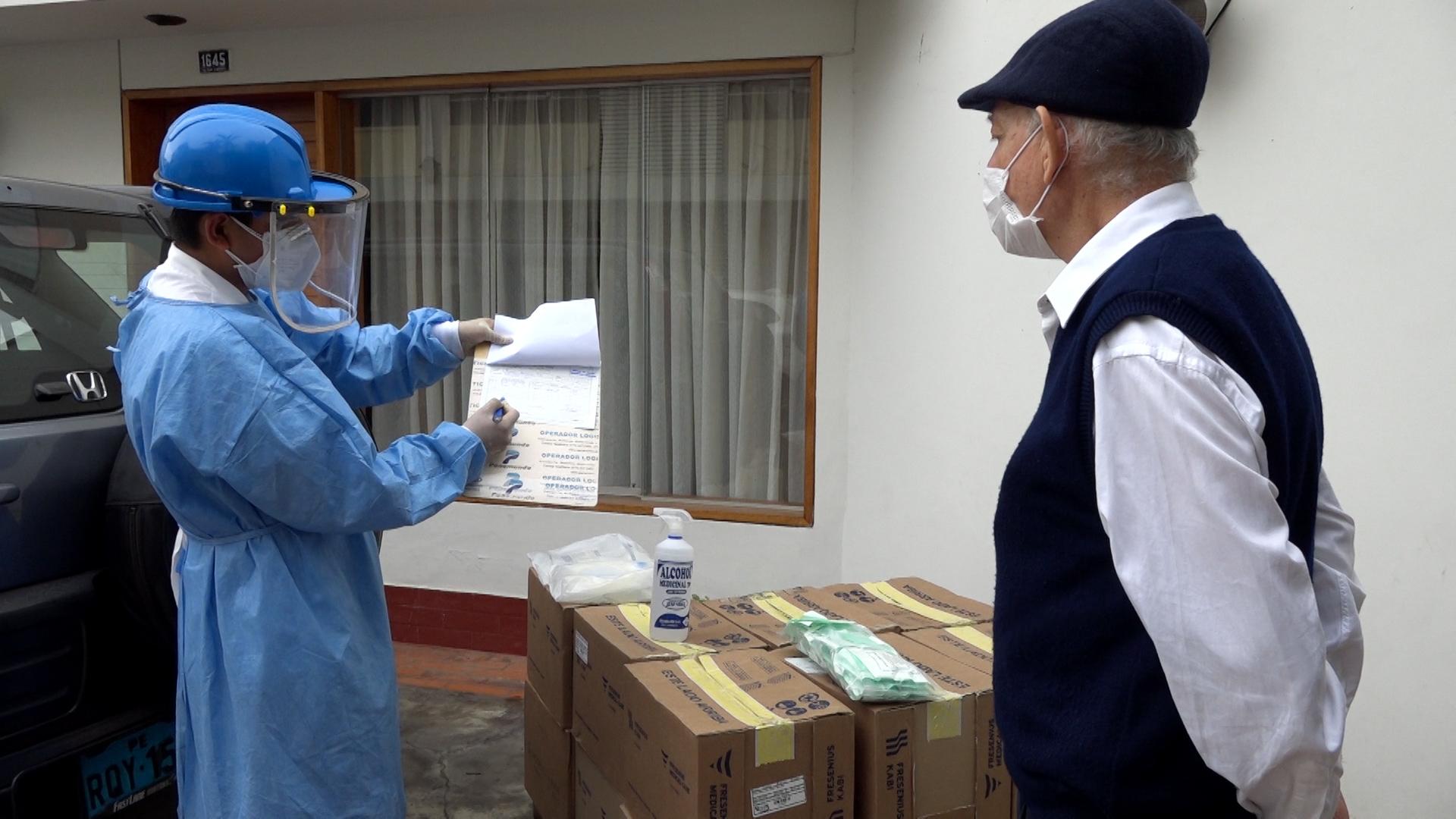 Essalud - Más de mil pacientes críticos de la red asistencial Rebagliati recibirán sus medicinas en casa