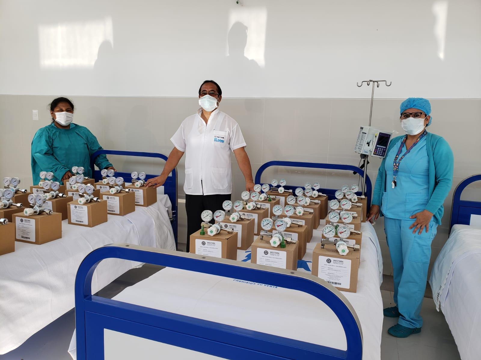 EsSalud Tacna adquiere reguladores de oxígeno para atención de pacientes Covid-19