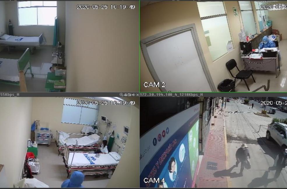 Essalud - EsSalud Puno incorpora videovigilancia sanitaria para pacientes Covid-19