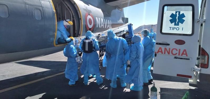 Essalud - Trasladan a médico desde EsSalud Juliaca hacia Hospital Edgardo Rebagliati