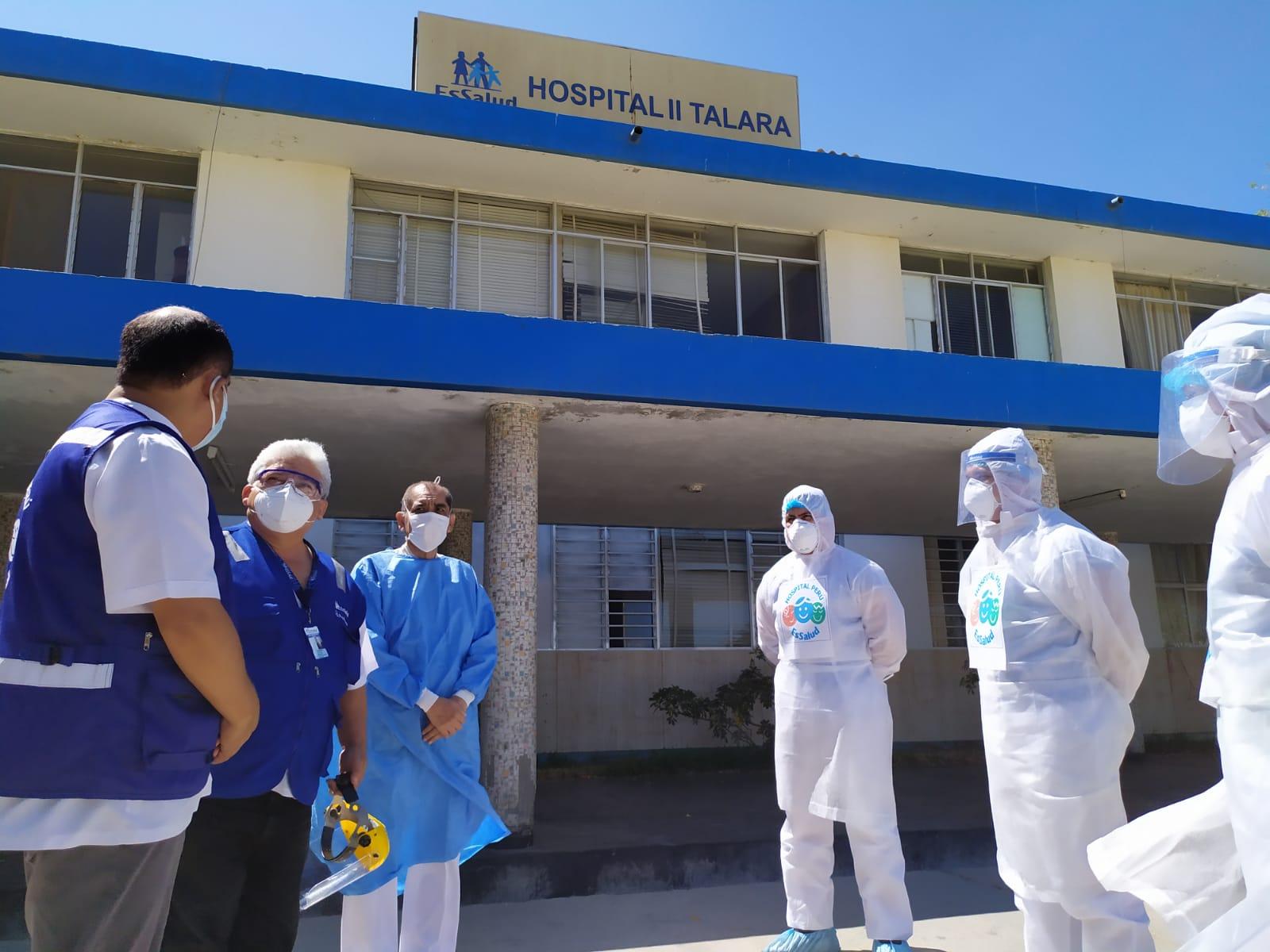 Essalud - EsSalud Piura: más de mil pacientes superaron el Covid-19 en Talara