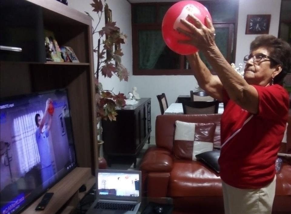 EsSalud Áncash, mediante videoconferencia, realiza talleres virtuales para adultos mayores