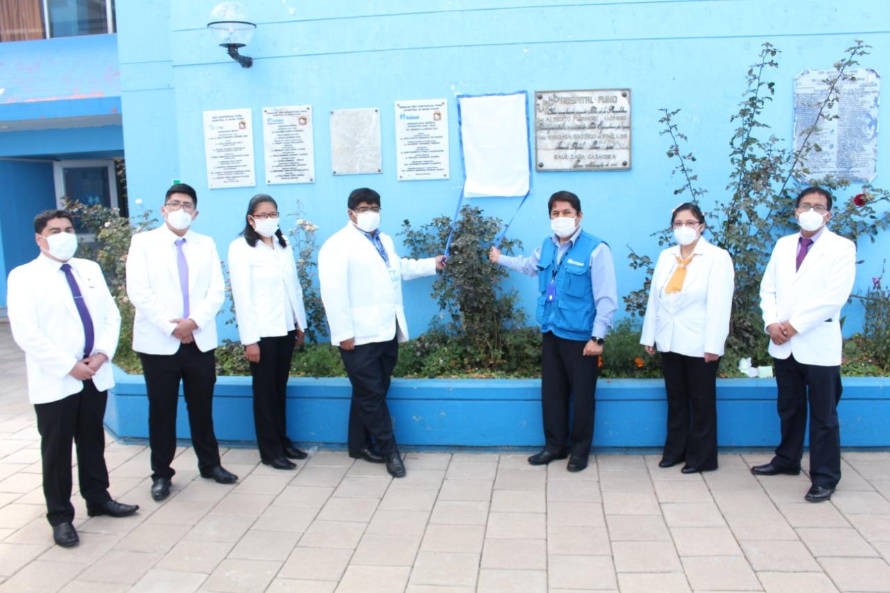 En EsSalud Puno egresan médicos residentes