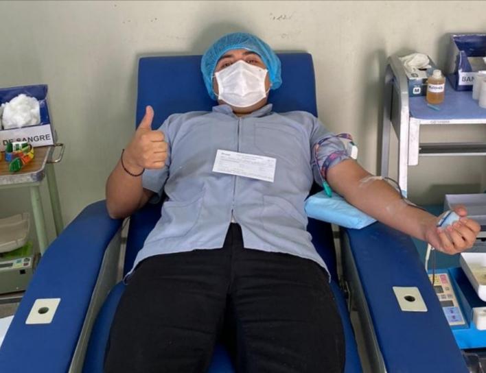 Essalud - EsSalud Tacna inicia campaña de donación voluntaria de sangre para fortalecer lucha contra el Covid-19