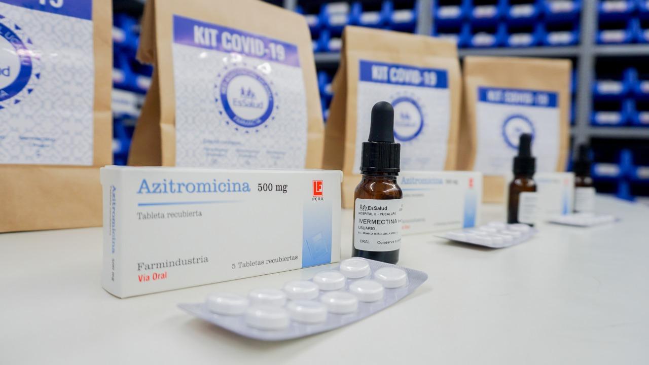 EsSalud Ucayali producirá 6 mil frascos mensuales de Ivermectina para el tratamiento del Covid-19