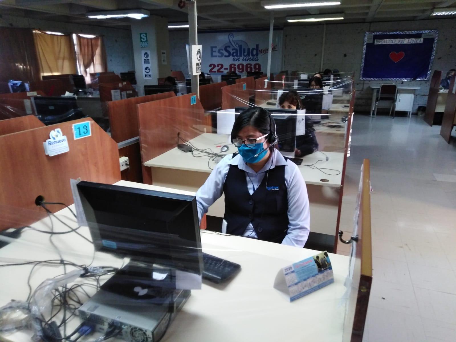 Essalud - Teleconsultas médicas realiza EsSalud Arequipa mediante teléfonos fijos y celulares
