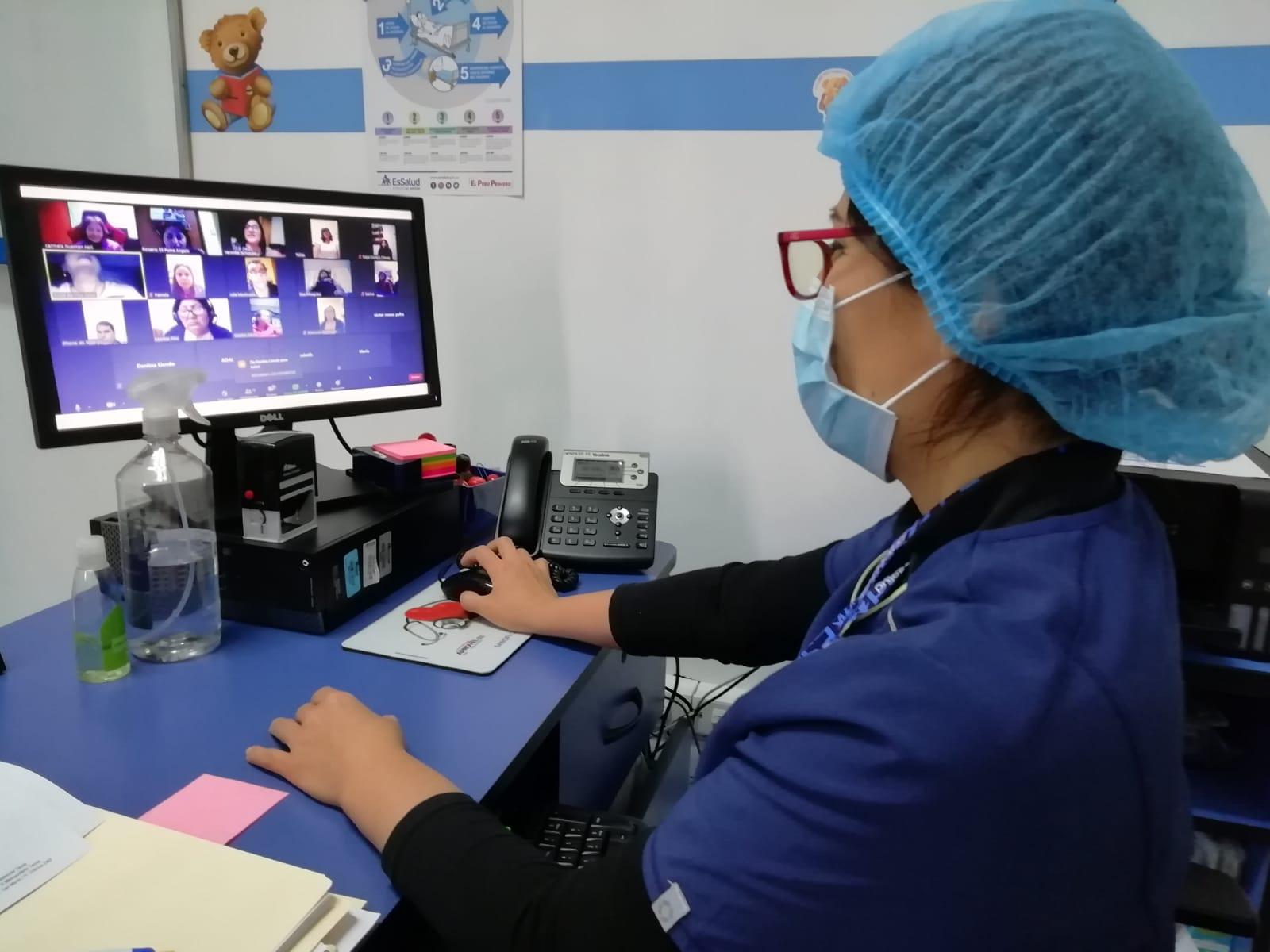 Essalud - EsSalud Tacna implementa teleconsultas en beneficio de pacientes crónicos y vulnerables