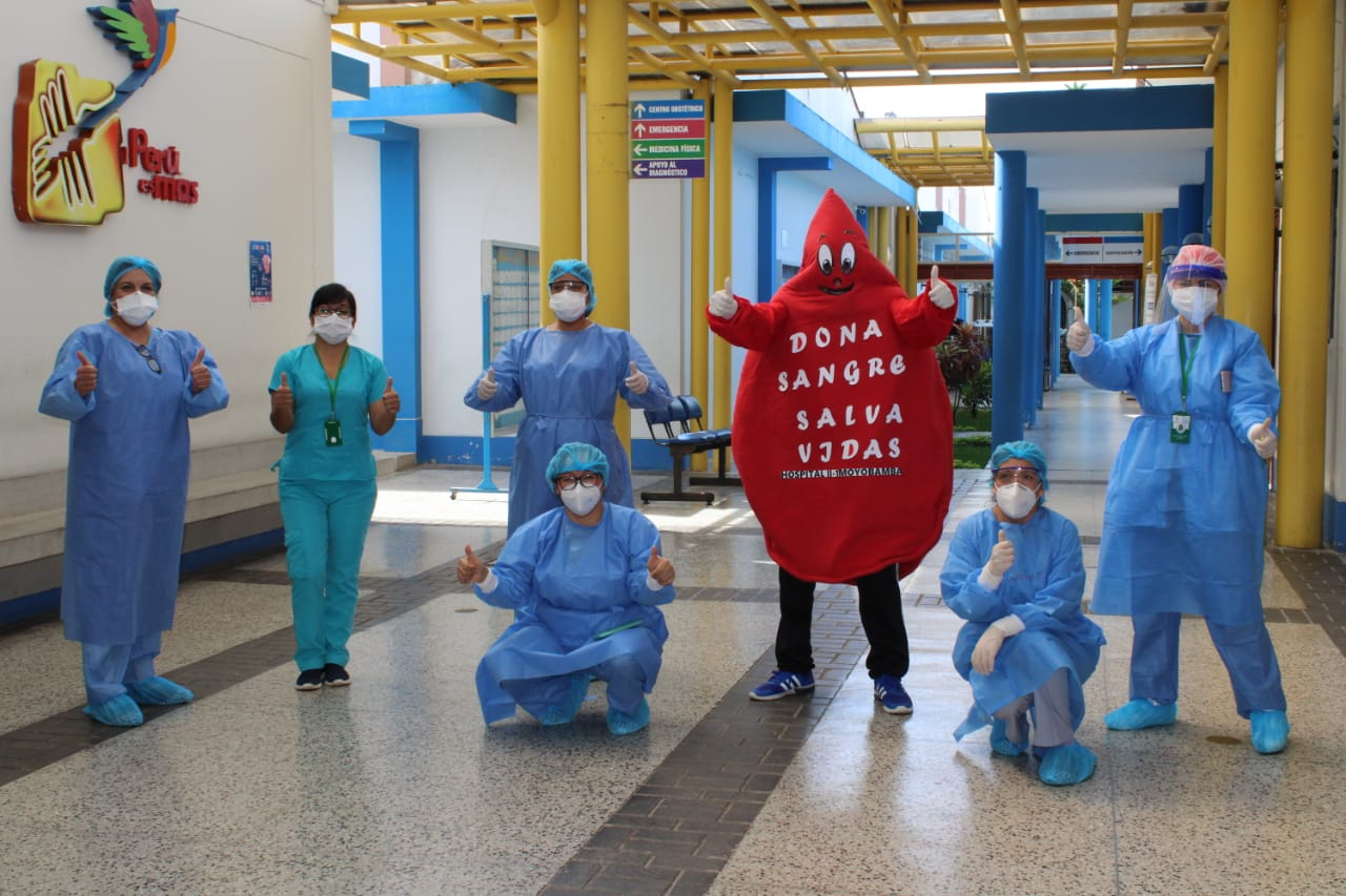 Essalud - EsSalud Moyobamba realiza segunda jornada de donación voluntaria de sangre