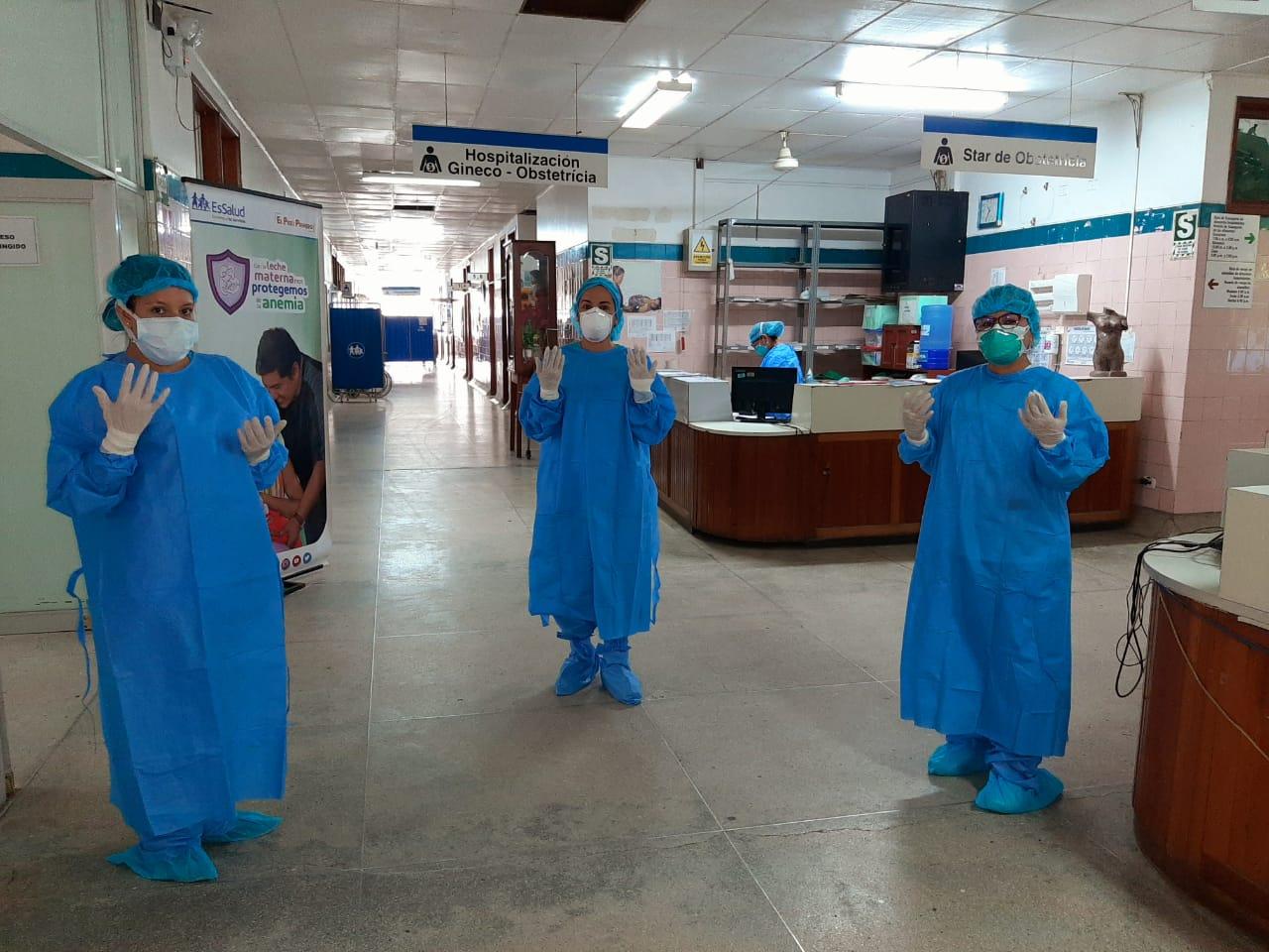 Essalud - Hospital III Iquitos de EsSalud Loreto atendió a más de 10 mil asegurados por Covid-19, durante la pandemia