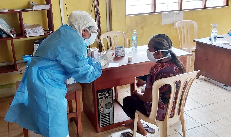 Essalud - EsSalud Loreto: brigada médica acude a domicilio de asegurados en Requena