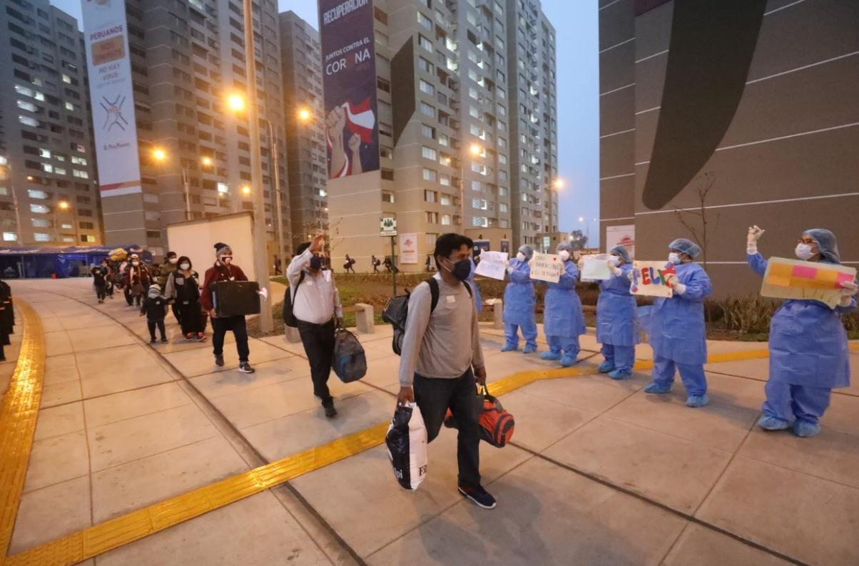 Essalud - Villa Panamericana de EsSalud da de alta a más de 150 pacientes