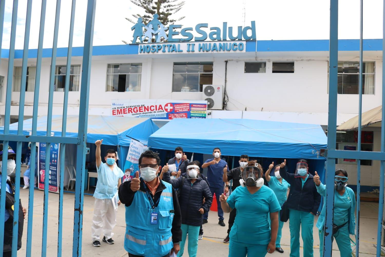 Essalud - EsSalud Huánuco: brigada de médicos y enfermeras se suma a lucha contra el Covid-19