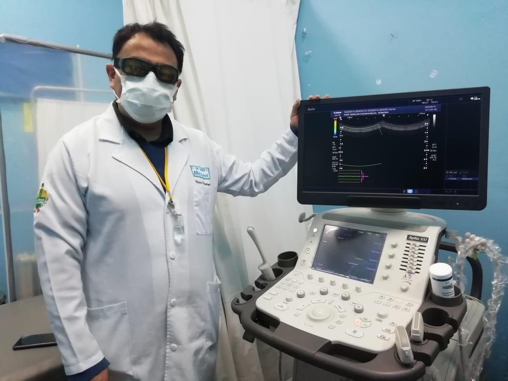 Essalud - EsSalud Huancavelica pone en funcionamiento dos modernos ecógrafos