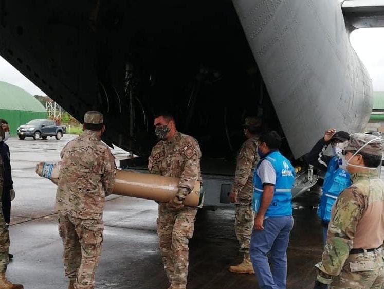 Essalud - EsSalud Madre de Dios recibe 80 balones de oxígeno y medicamentos