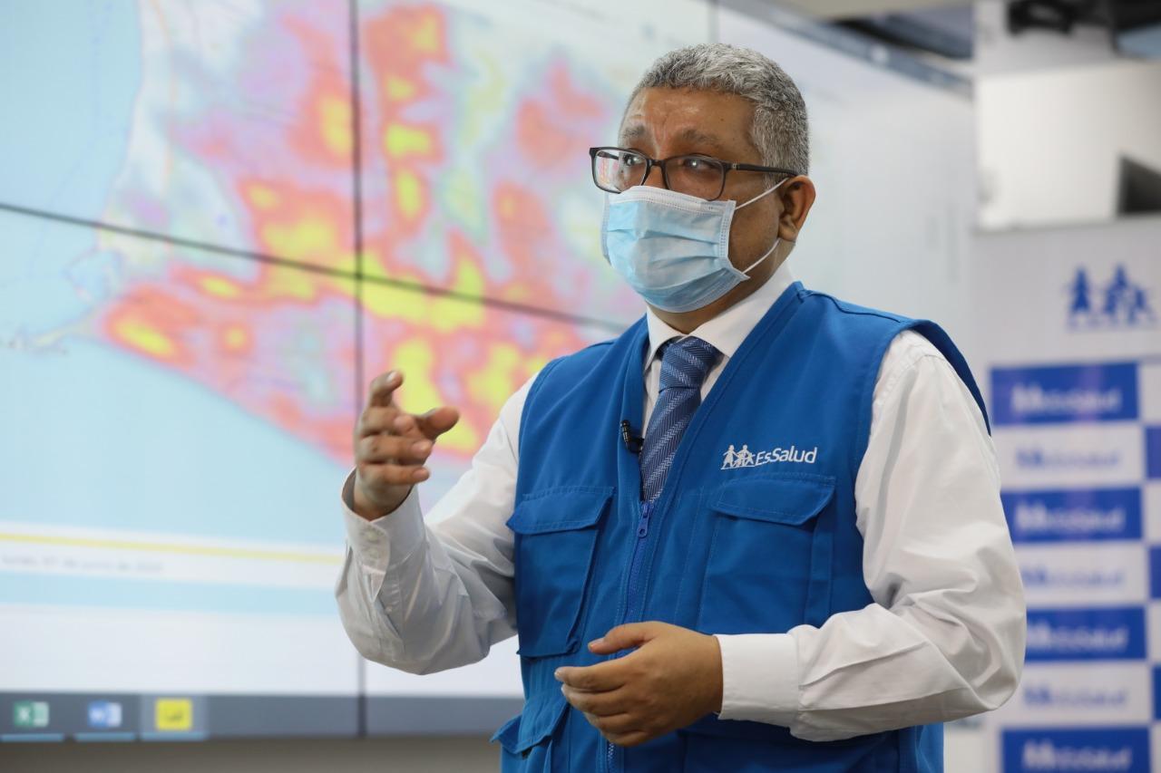 EsSalud advierte que hay regiones que están incrementando cifras de contagio por COVID-19