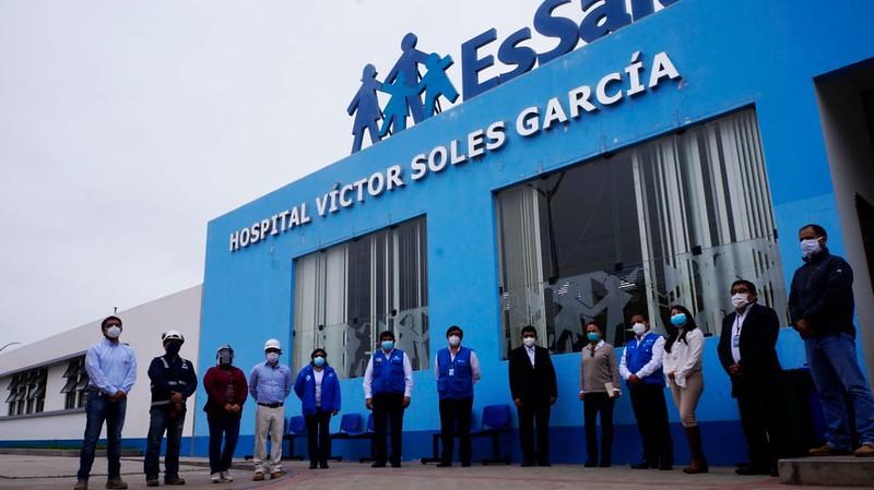 Essalud - EsSalud implementará en la provincia de Virú un Centro de Aislamiento para atención de pacientes Covid-19
